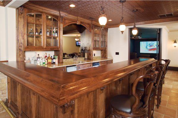 bar, media room 6