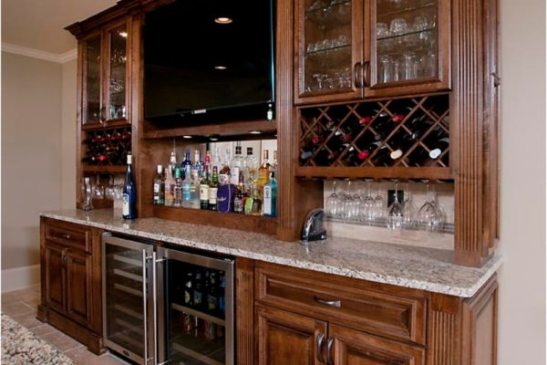 bar with wine rack2