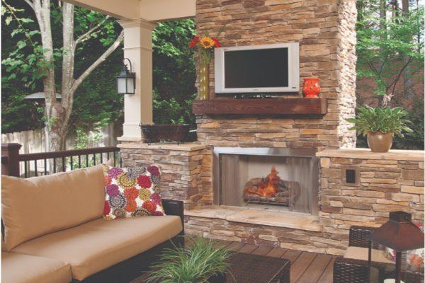 fireplace w-flames