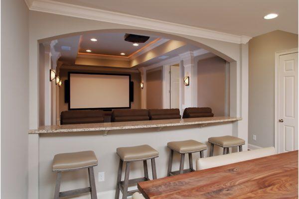kitchen to theatre