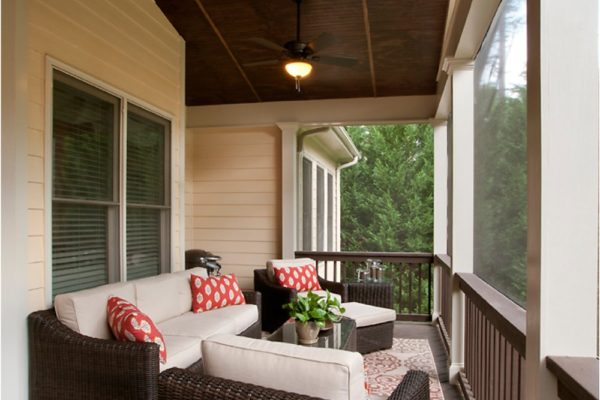 length of porch