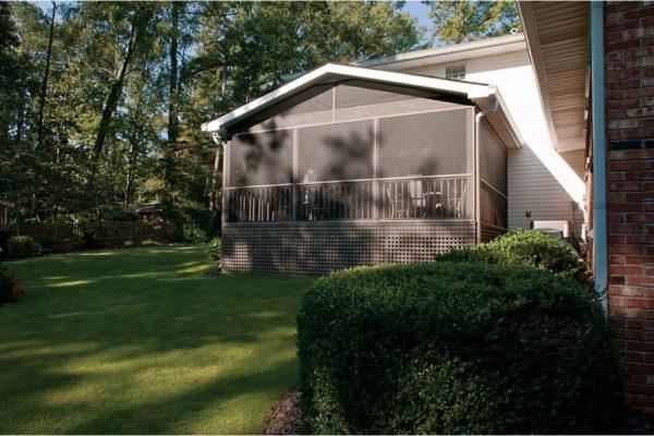 porch to backyard