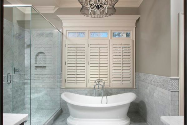 shower to bath tub