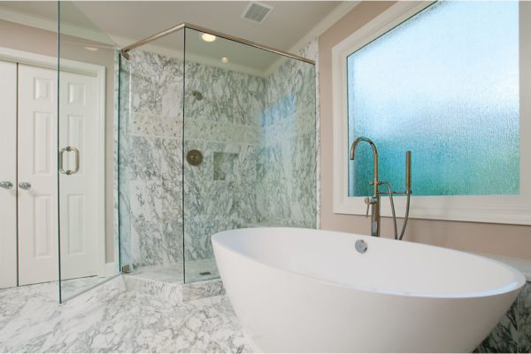 shower to tub
