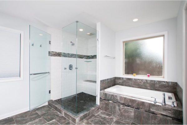 shower, tub