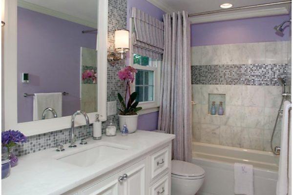 vanity to tub vertical