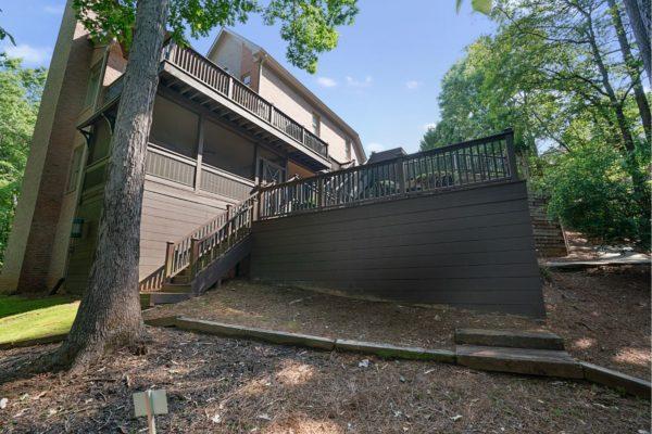 custom multi-level deck