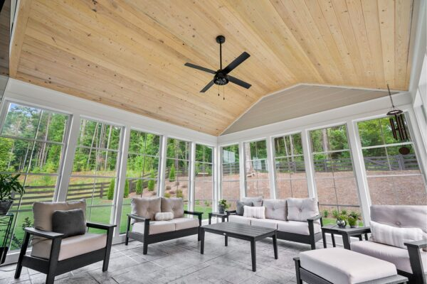 The ability to close the Eze-Breeze windows helps to keep this addition pollen free.