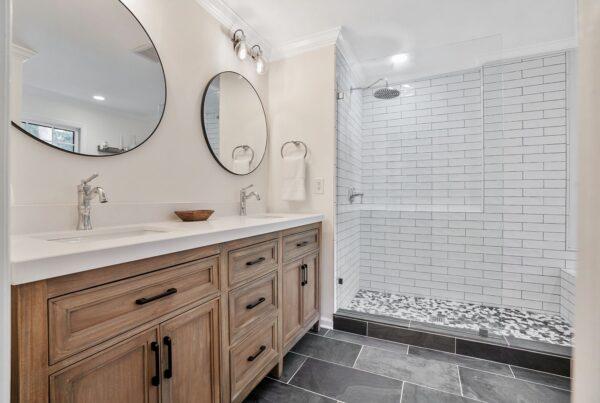 master bath remodel in roswell, ga