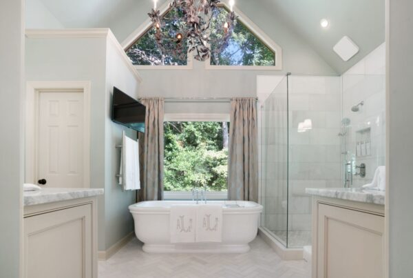 Master bath remodel in Roswell, GA.