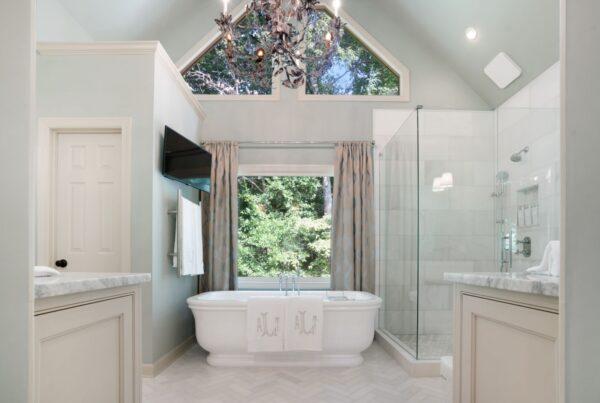 Master bath remodel in Roswell, GA.