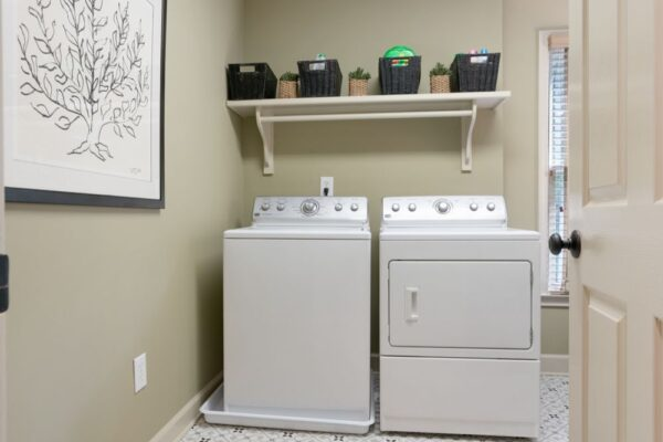 Laundry room remodel in Roswell, GA.